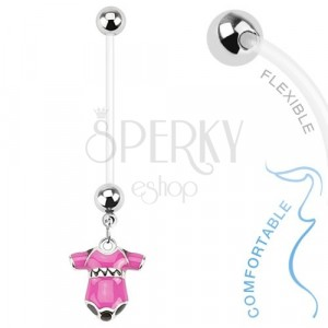 Navel Piercing Made Of Bioflex For Pregnant Women Colourful Baby