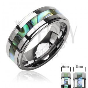 Tungsten ring - shell motive