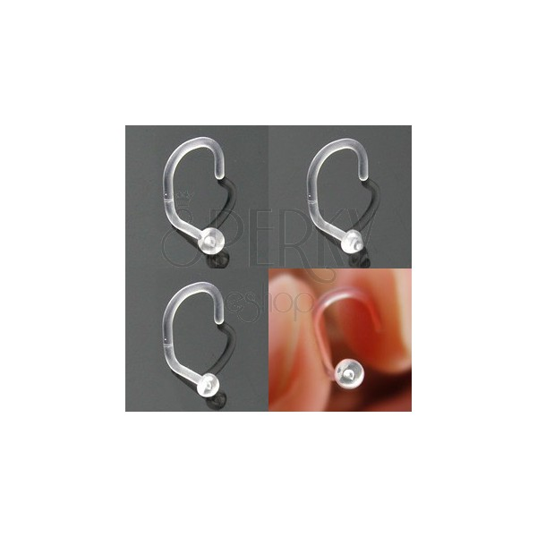 Nose ring BioFlex - various heads