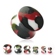 Ear plug in army colours