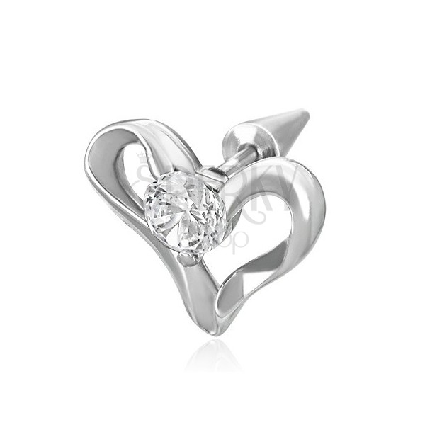 Fake expander with heart and zircon