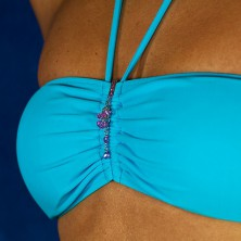 Swimsuit jewelry - dangle zircons